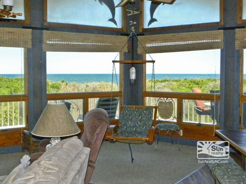 Panoramic Ocean Views from Living Area