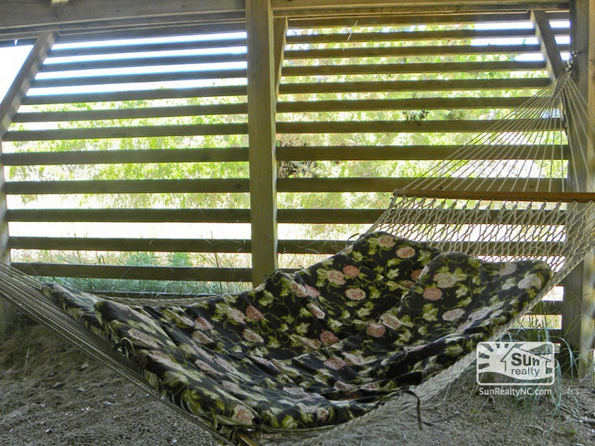 Private Hammock under House