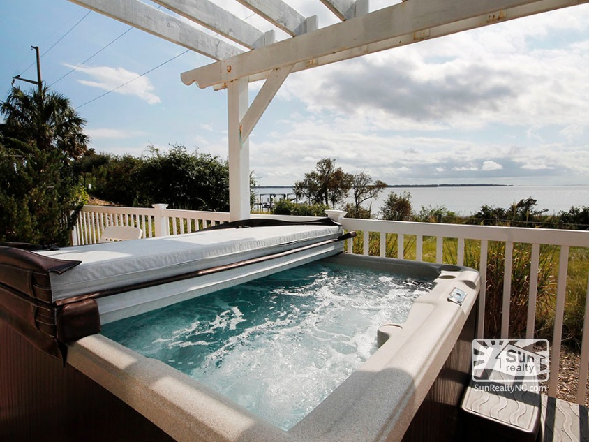 Private Hot Tub w/ Sunset and Water Views
