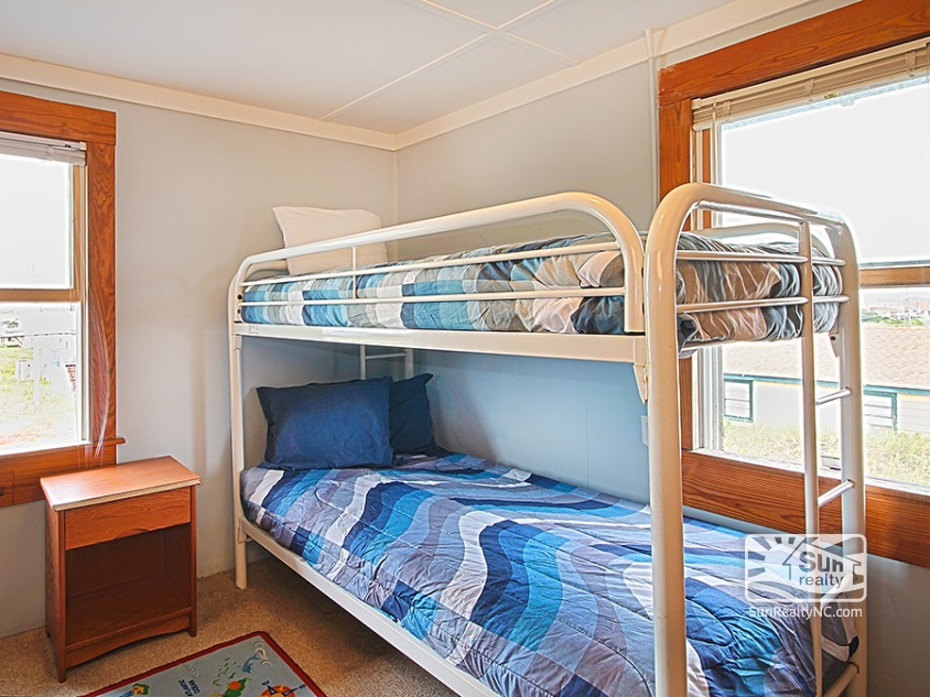 Top-Level Bunk Bedroom