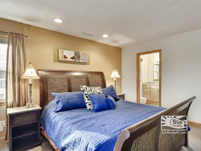 Second Level King Master Bedroom