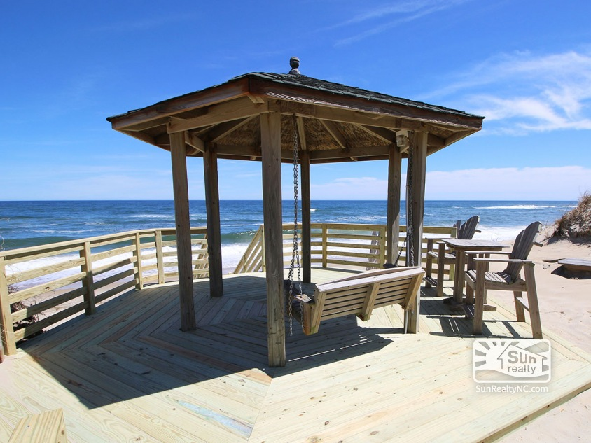 Private Beach Access and Oceanfront Gazebo
