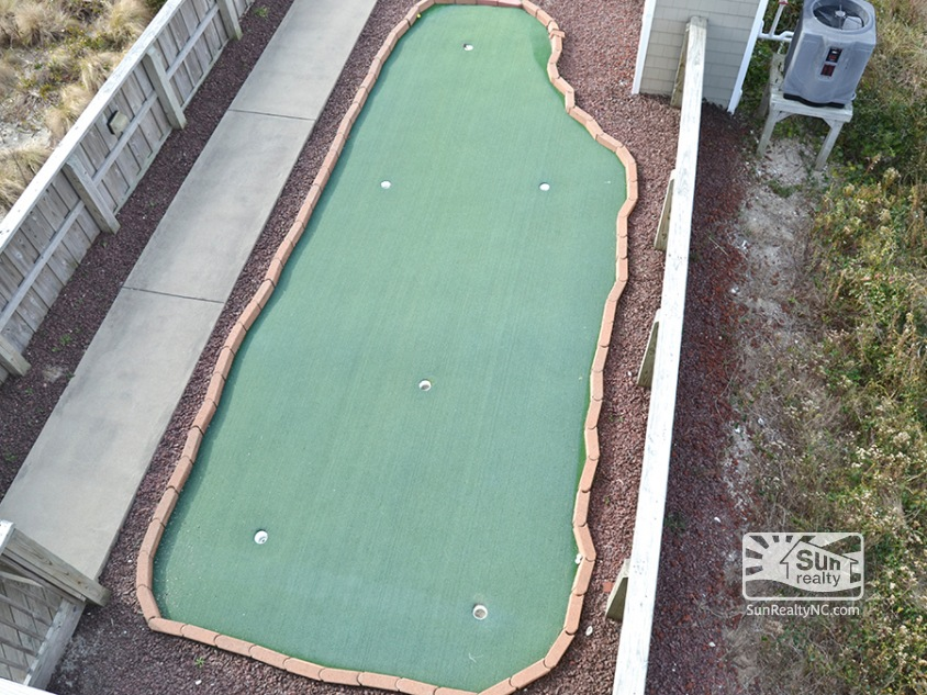 View of Putting Green from Deck