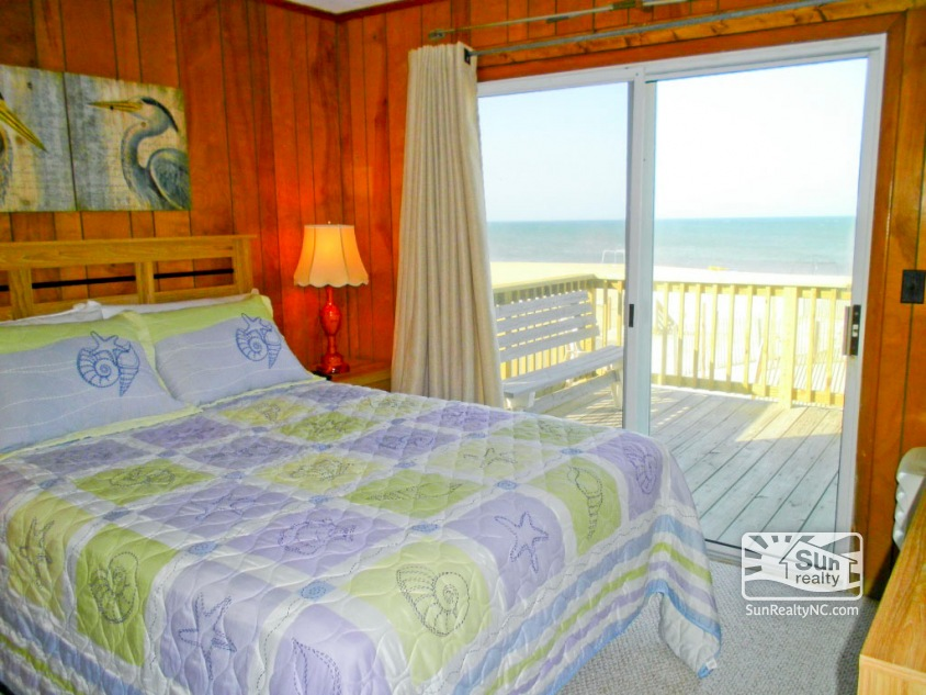 Queen Bedroom with Ocean Views