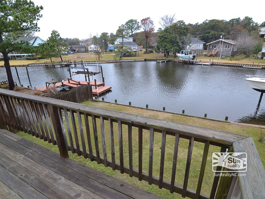 Canal Views from Deck