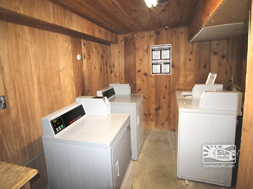 Coin Operated Laundry Area