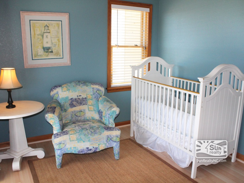 Carova cv 54 outer banks vacation rentals for Master bedroom with attached nursery