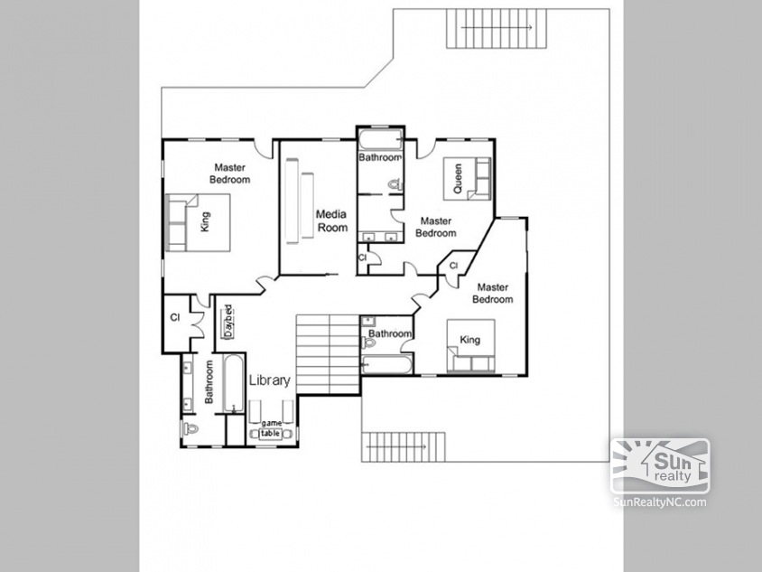 Mid Level Floor Plan