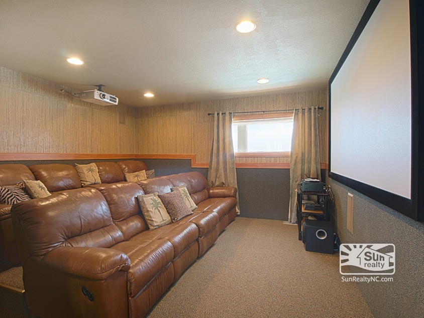 Mid Level Theater Room