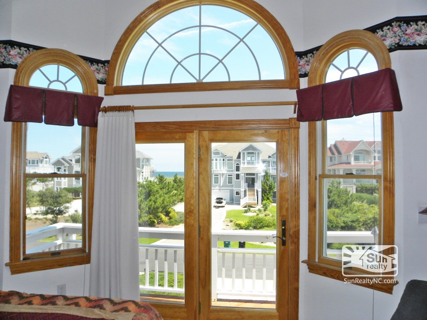 Ocean Views from King Master Bedroom