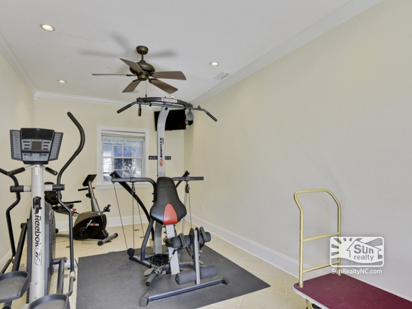 Lower Level Fitness Area