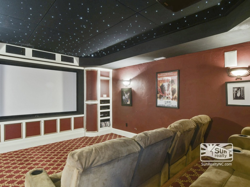 Lower Level Theater Room