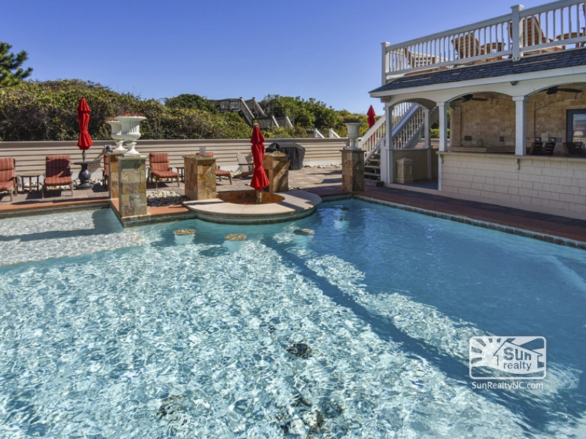 Private Heated Saltwater Pool