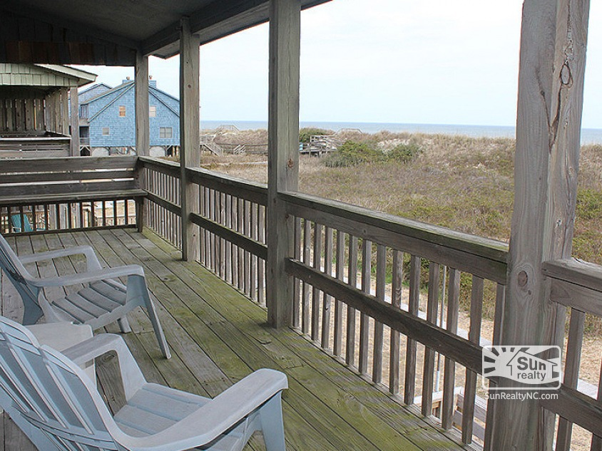 Mid Level Deck with Ocean Views
