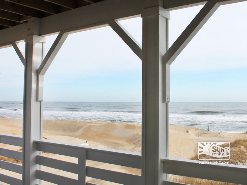 Ocean Views from Mid Level Deck