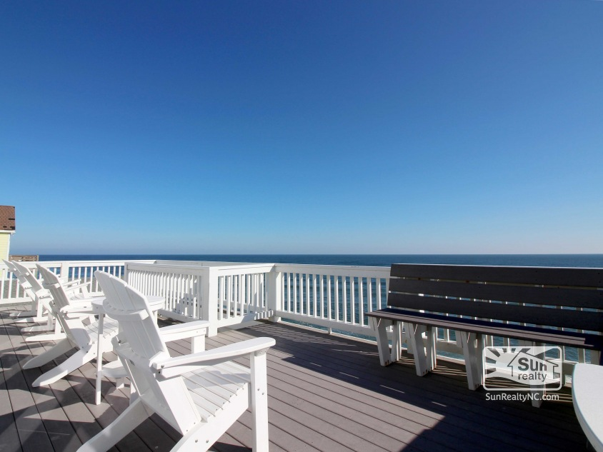 Top-Level Oceanfront Deck
