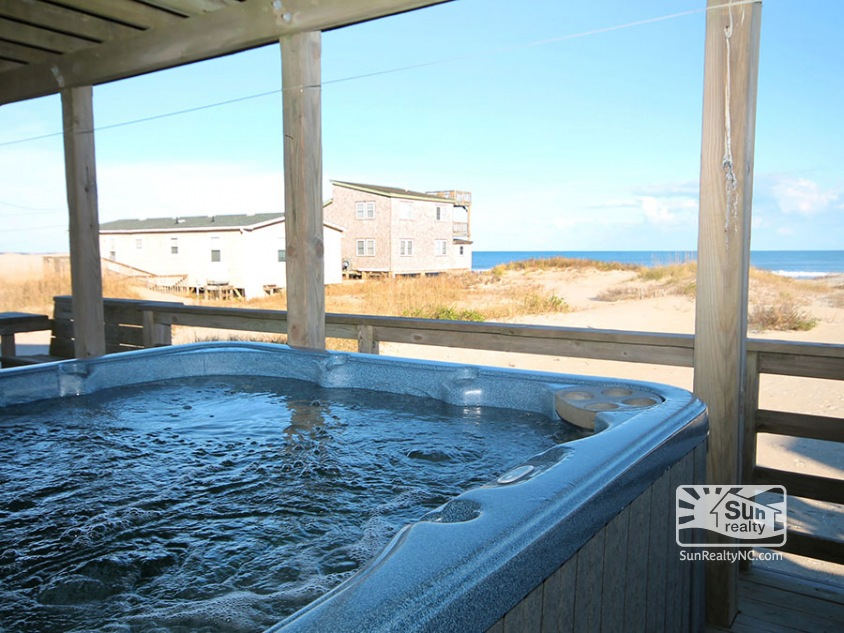 Private Hot Tub with Ocean Views