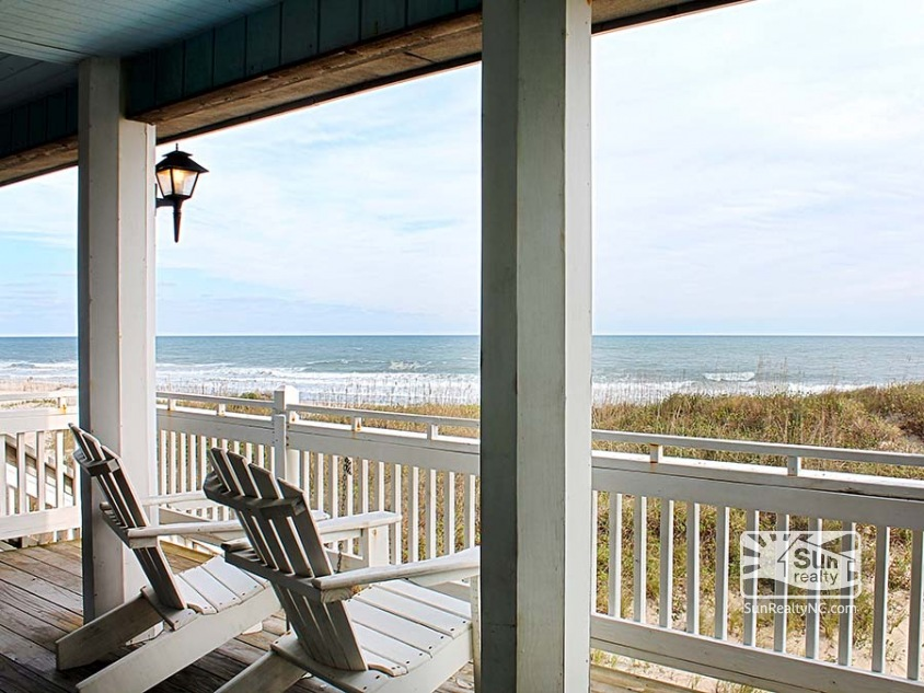 Ocean Views from First-Level Deck