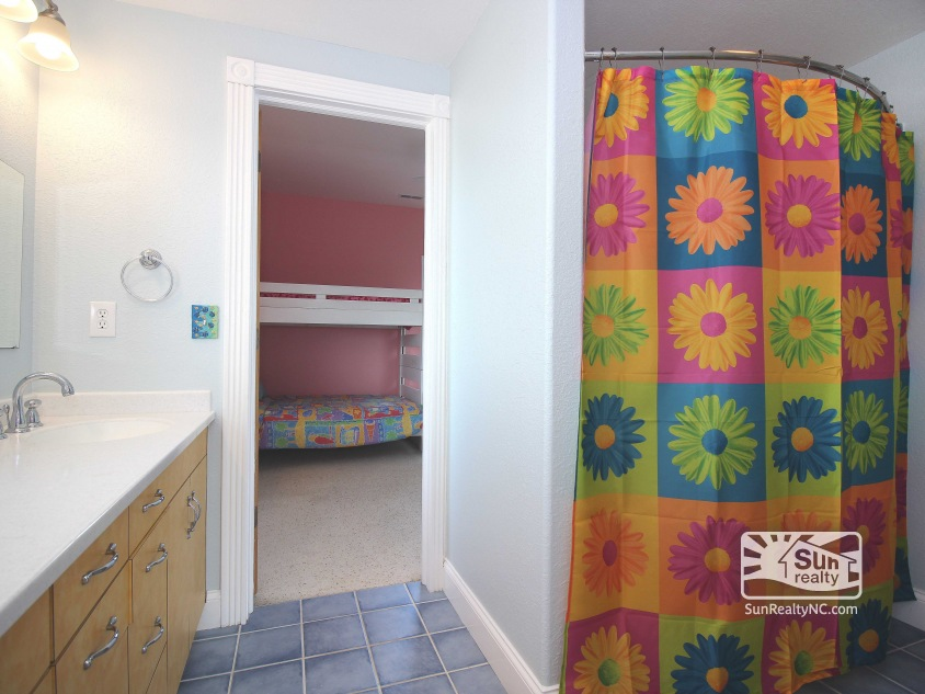 Entry-Level Jack and Jill Bathroom