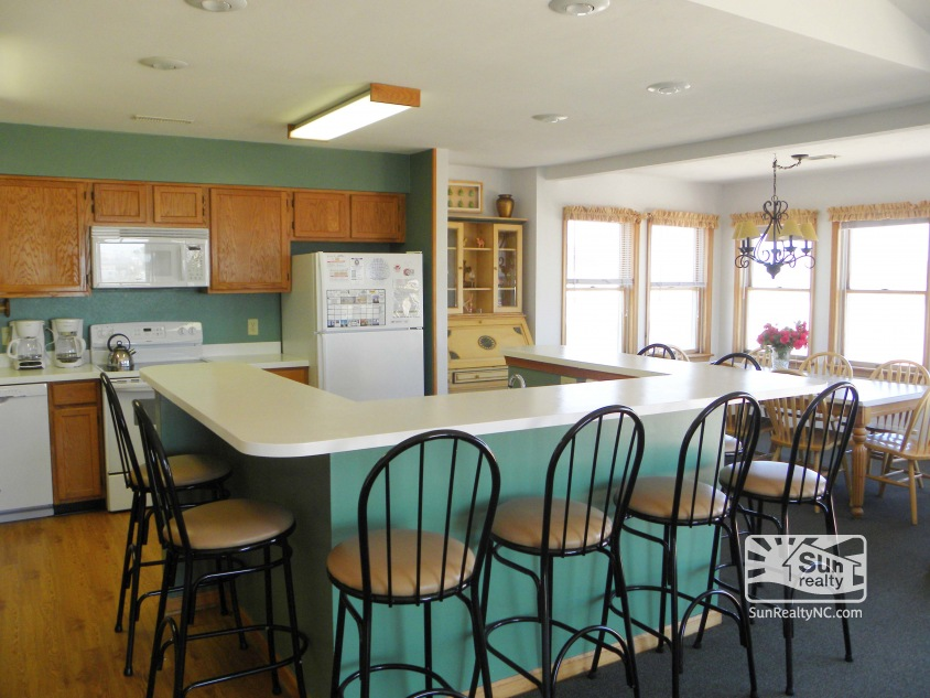 Top-Level Kitchen and Dining Areas