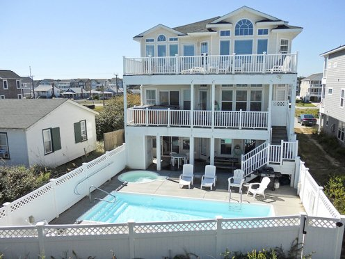 Browse book online outer banks vacation rentals for Outer design for house
